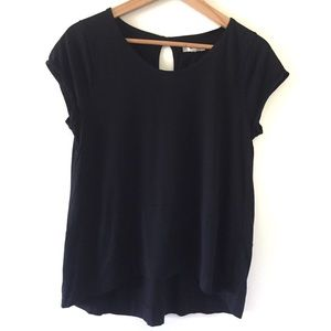 Madewell   Folkchord Black Short Sleeve T-shirt M